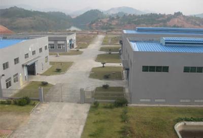 生产基地鸟瞰图