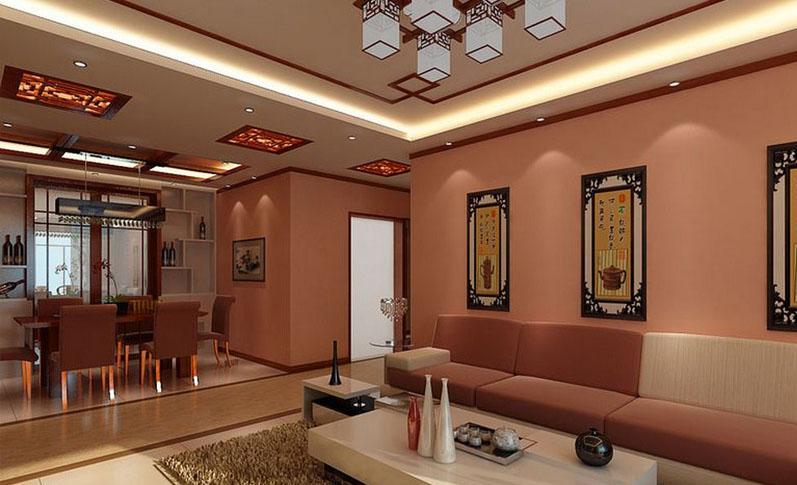 中式客厅004