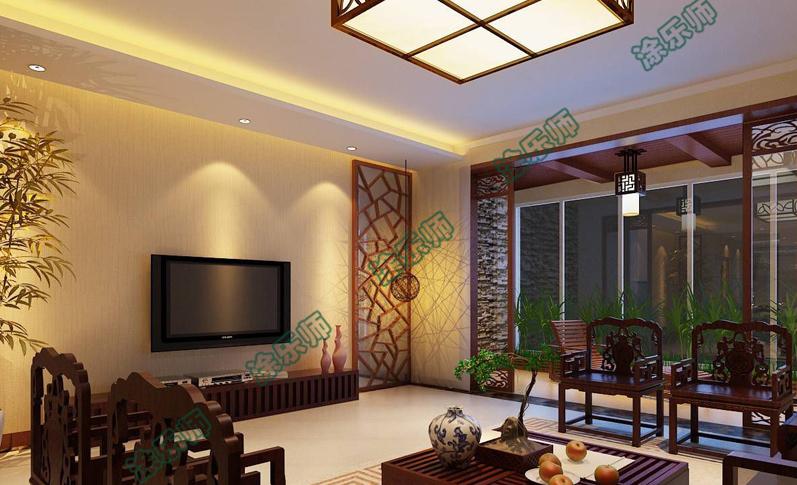 中式客厅003