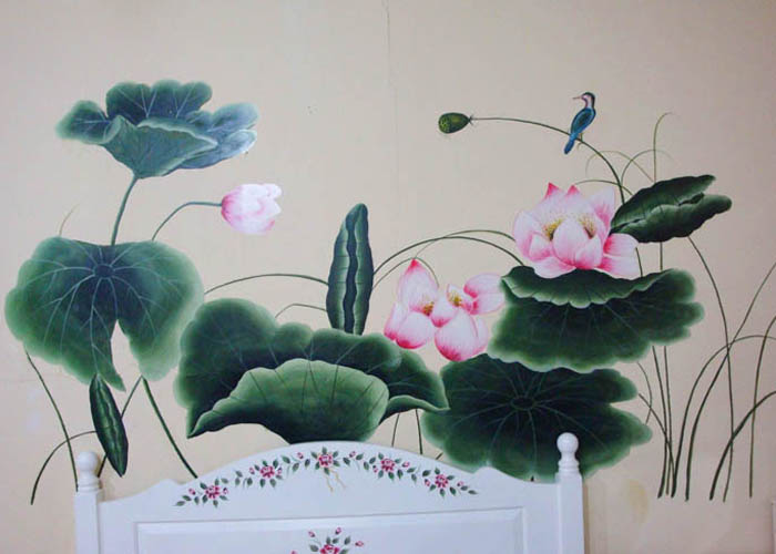 手绘:硅藻彩绘