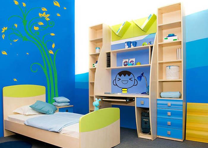 硅藻泥装修注意事项之儿童房装修相对于其他壁材硅藻泥壁材更加环保