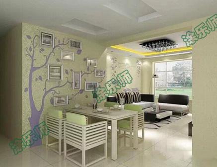硅藻泥的成分硅藻泥墙面解决家具污染的烦恼