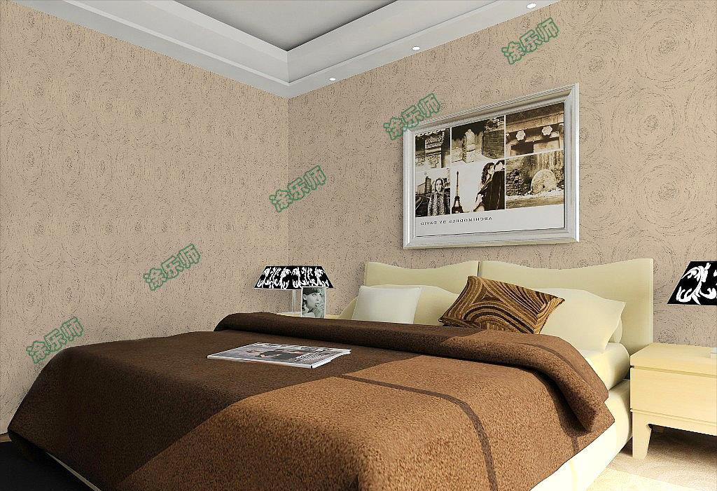 广州硅藻泥加盟厂介绍硅藻泥与壁纸、乳胶漆的价格对比