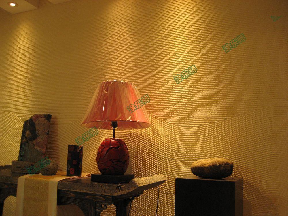 硅藻泥品牌硅藻泥与壁纸、乳胶漆的材料成分对比