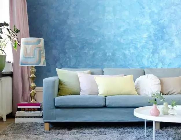 艺术涂料   你与杂志上的家,仅仅是一面墙的距离
