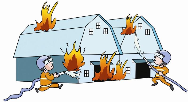 面对火灾怎么办?