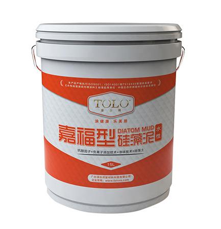 嘉福型水性硅藻泥